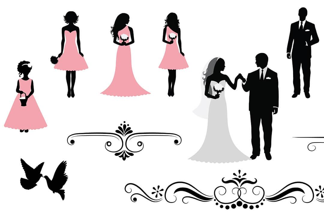 結婚式、披露宴にはふさわしい服装で!