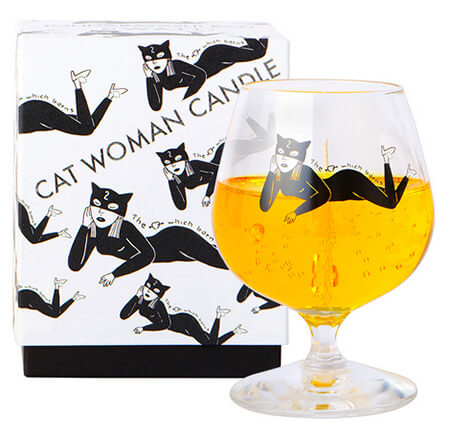 CAT WOMAN CANDLE