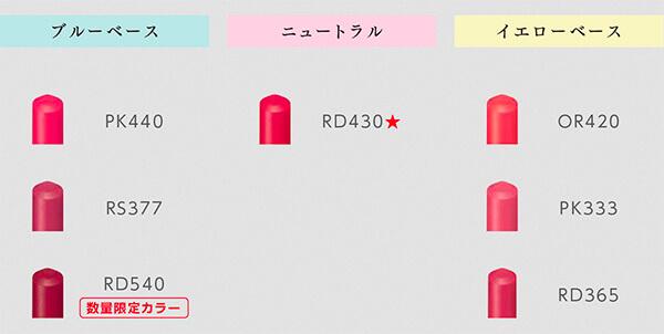 マキアージュ・ドラマティックルージュEX-5