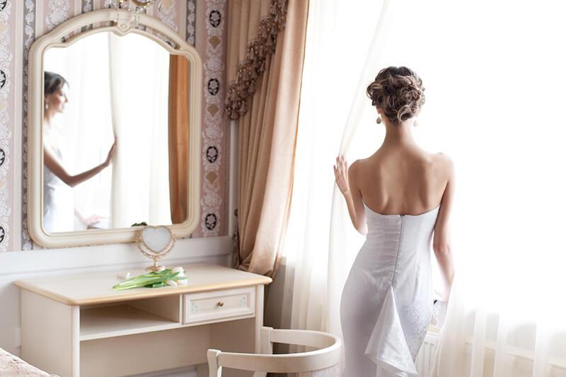 ウェディングドレス・コーデ-1