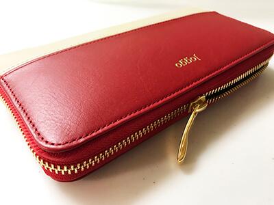 届いた財布2