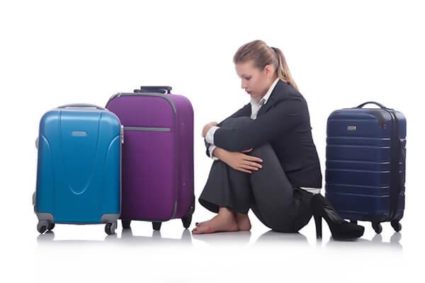 機内持ち込みスーツケース・アイコン