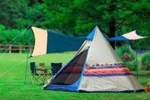 女子キャンプアイコン